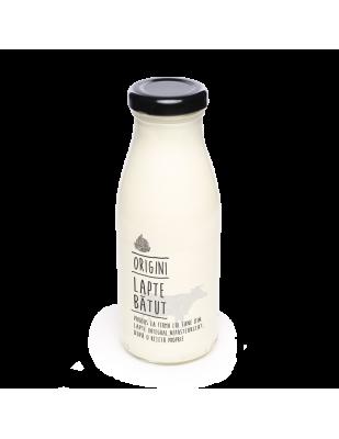 Lapte bătut de vacă 500 ml