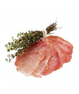 Muşchi de porc, crud-uscat