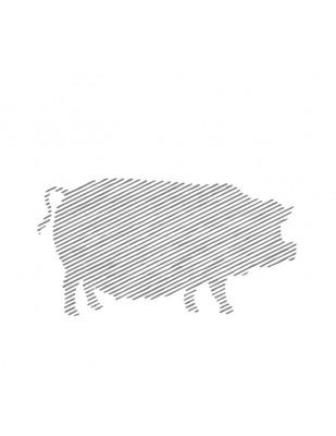 Muşchi de porc mangaliţă, copt şi afumat