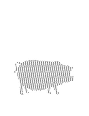 Muşchiuleţ de porc, crud-uscat