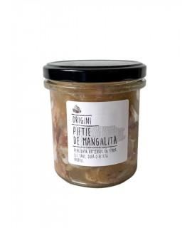 Piftie de mangaliţă