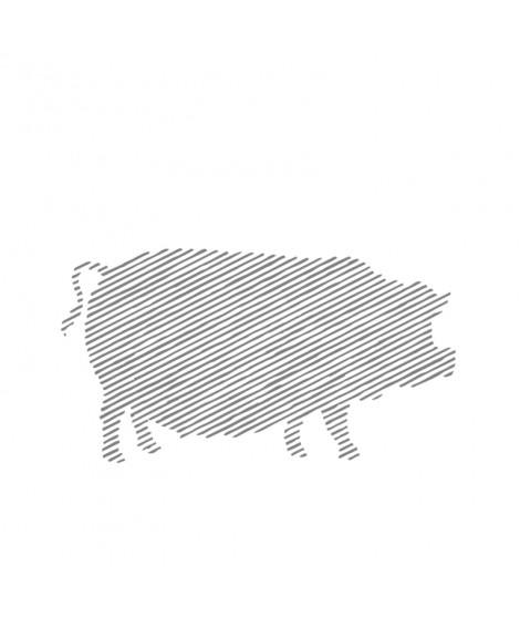 Pulpă coaptă şi afumată de porc